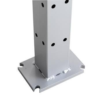 Security fencing: uprights