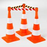 Belt barrier for traffic cones: 3650mm