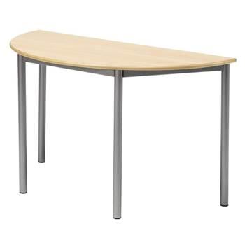 Półkoliste biurko Boras, D 1200 mm, W 720 mm