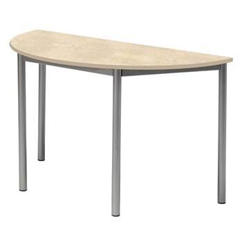 Sonitas desk, semi-circular, L 1200 mm, H 720 mm