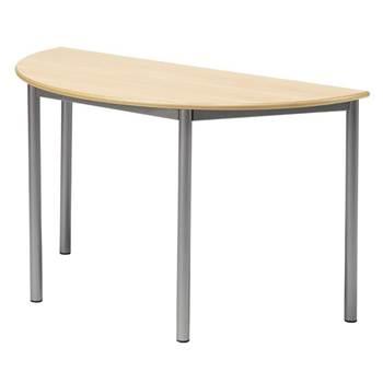 Boras desk, semi-circular, L 1200 mm, H 900 mm