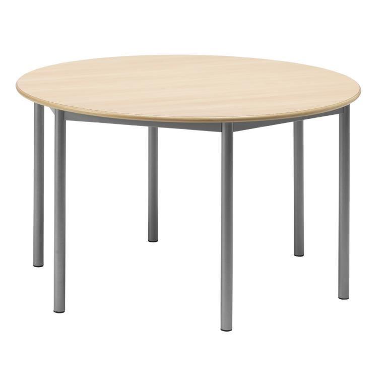 Stół BORAS z okrągłym blatem