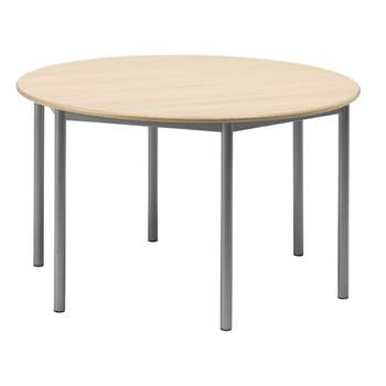 Boras desk, round, Ø1200 mm, H720/800/900 mm