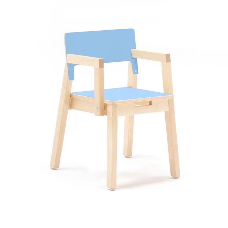 """""""Love"""" Child's chair with armrests, H340/380 mm"""