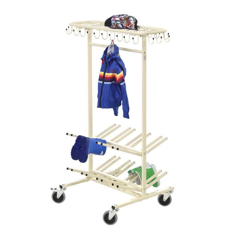 """Orkan"" clothes and shoe rack"