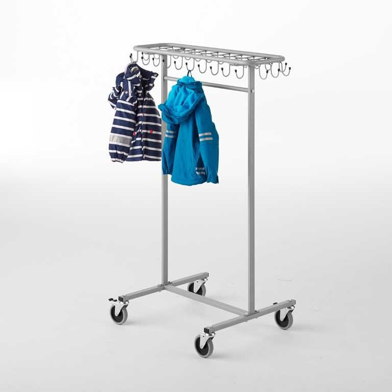 """Orkan"" clothes trolley, tall"