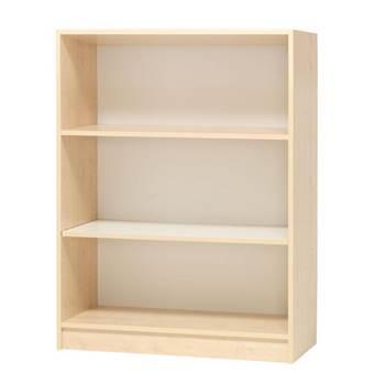 Modern bookcase, D 300 mm