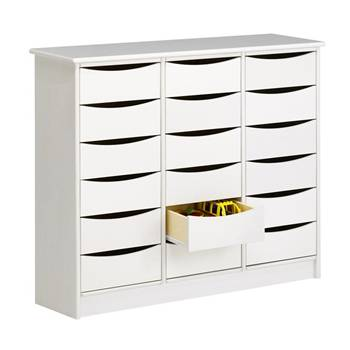 Storage Cabinet, 18 large drawers