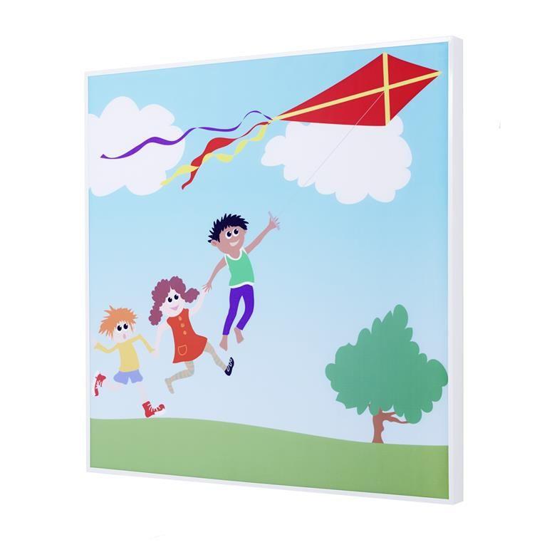 Lydabsorberende veggpanel, Barn med drage
