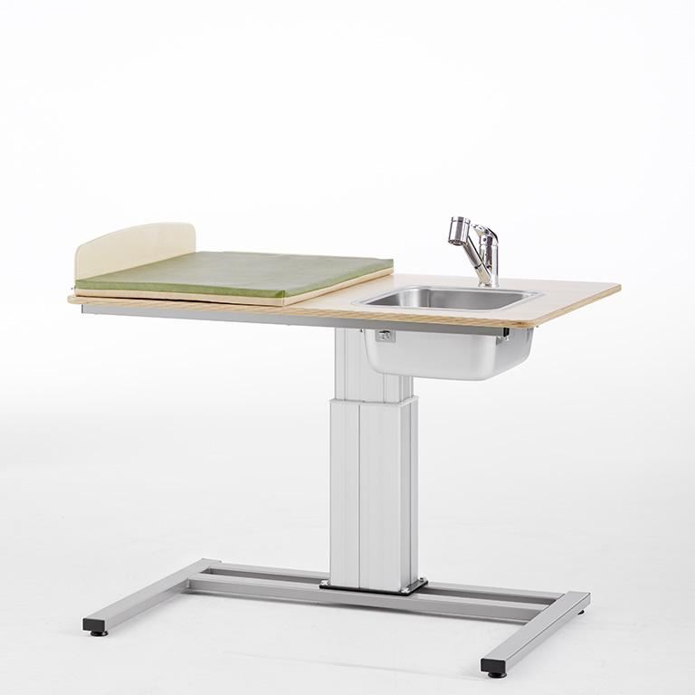 """""""Elin"""" Height-adjustable baby changing table"""