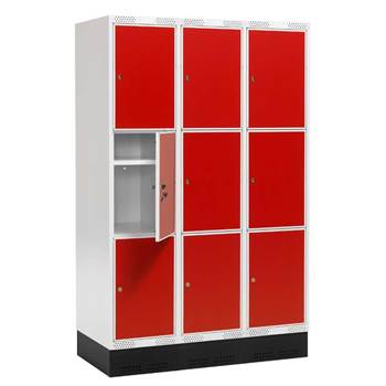 """Roz"" III student locker, 3 sections"