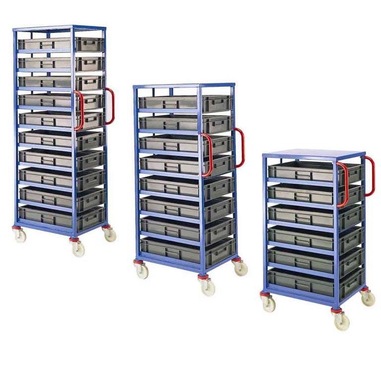 Mobile tray rack