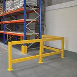 Lift out rail barriers: rail section