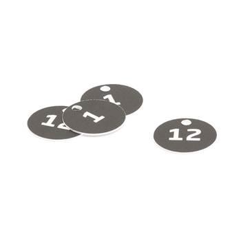 Breloczki z numerami do szafek, kluczy
