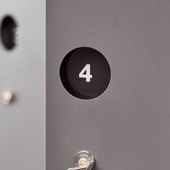 Tabliczki z numerami do drzwi Create Sign