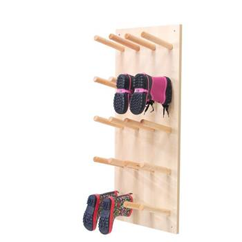"""Pero"" wall-mounted boot storage, 10 pairs"