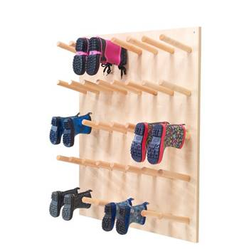 """Pero"" wall-mounted boot storage, 20 pairs"