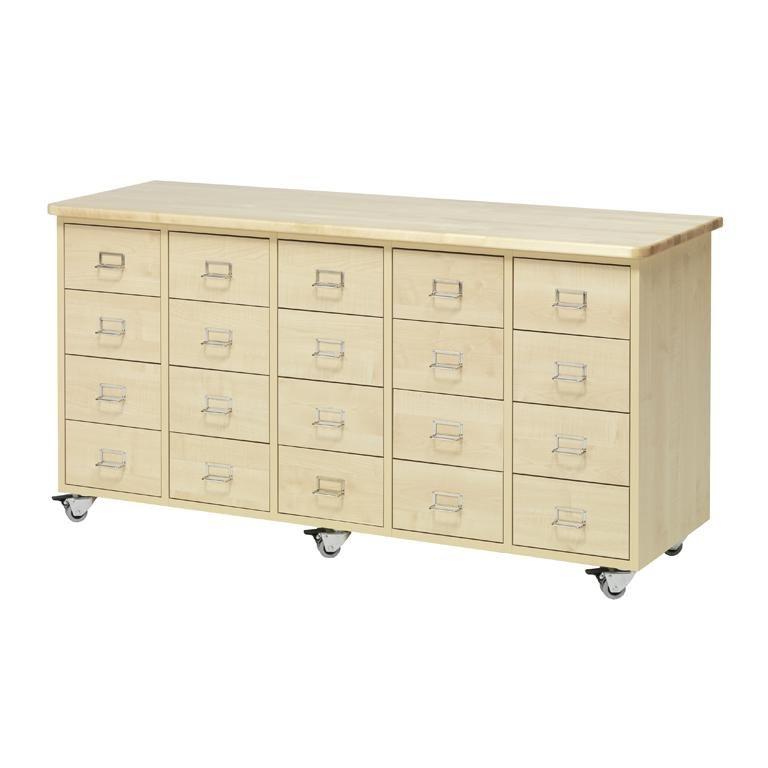 Köpmansdisk 20 lådor