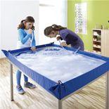 Multi-purpose plastic play sheet