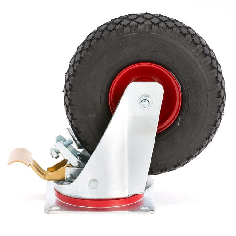 Pneumatic wheels, 170 kg