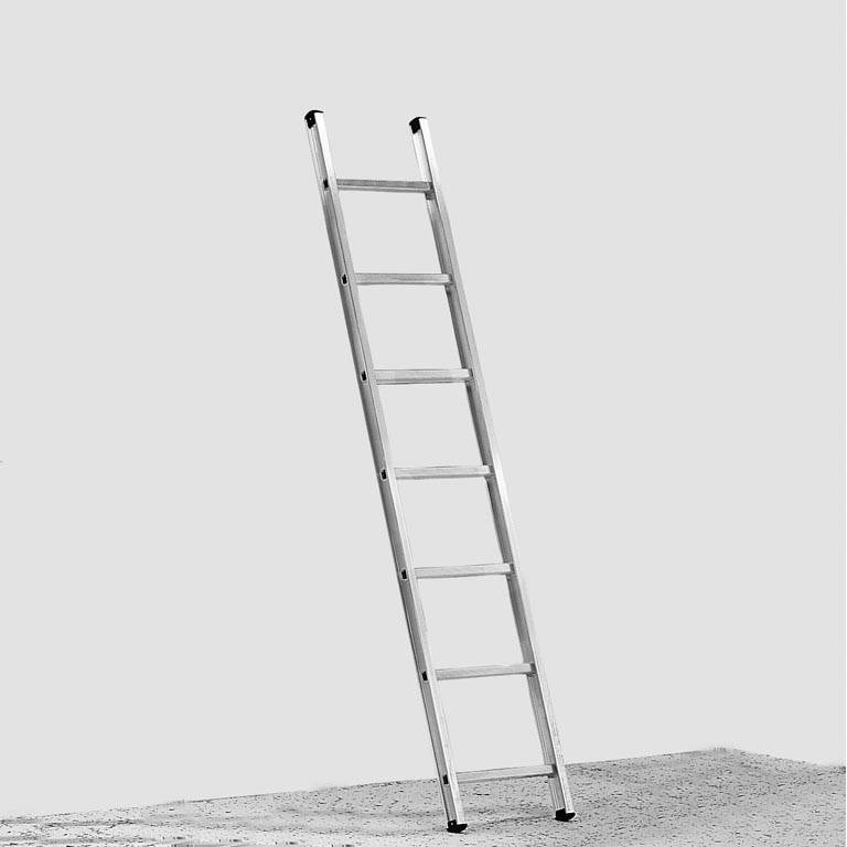 Single aluminium ladder